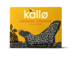 Kallo Stock Cubes Organic Chicken 66g