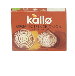 Kallo Stock Cubes Organic French Onion 66g
