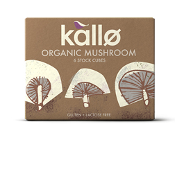 Kallo Stock Cubes Organic Mushroom 66g