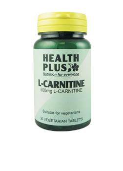 Health Plus L-Carnitene 500mg