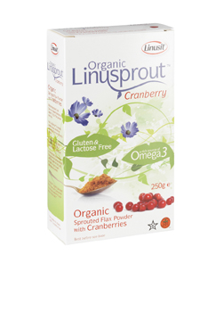 Linusprout Flax Powder Cranberries 250g