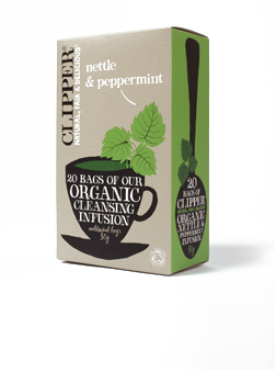 Clipper Organic Nettle & Peppermint Infusion 20 Teabags