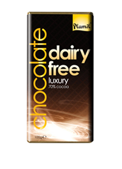 Plamil Free From Luxury Chocolate 70% Cocoa 100g