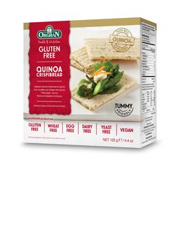Orgran Quinoa Crispibread 125g