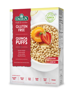Orgran Quinoa Breakfast Puffs 300g