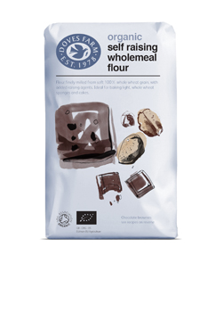 Doves Farm Organic Self Raising Wholemeal Flour 1 kilo