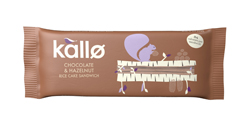 Kallo Hazelnut & Chocolate Rice Cake Bar 3X20g