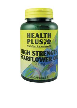 Health Plus Starflower Oil 1000mg