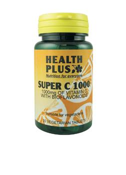 Health Plus Super C1000 30 tabs
