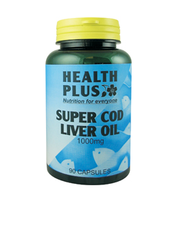Health Plus Super Cod Liver Oil 1000mg