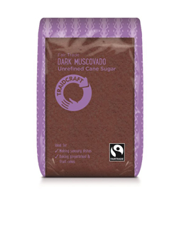 Traidcraft FT Unrefined Dark Muscovado Sugar 500g