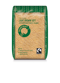 Traidcraft FT Unrefined Light Brown Soft Sugar 500g