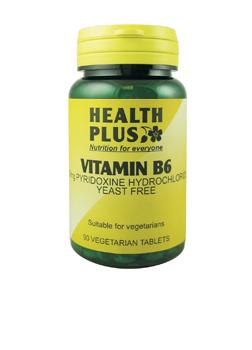 Health Plus Vitamin B6 90 tabs