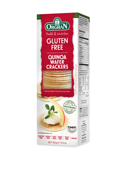 Orgran Wafer Crackers with Quinoa 100g