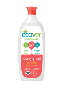 Ecover Washing Up Liquid Grapefruit & Green Tea 1 Litre