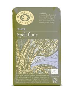 Doves Farm Organic White Spelt Flour 1 kilo