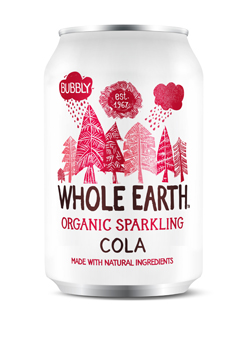Whole Earth Organic Sparkling Cola Drink 330ml