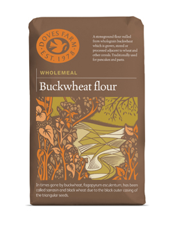 Doves Farm Wholemeal Buckwheat Flour 1 kilo