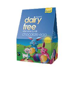 Plamil Organic Fairtrade Alternative to Milk Chocolate Easter Egg 85g