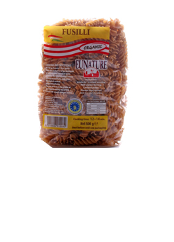 Eunature Organic Wholewheat Fusilli 500g